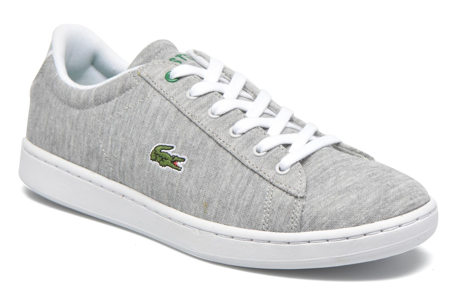 Trainers Lacoste Carnaby EVO 116 2 Grey detailed view/ Pair view